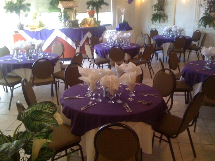 Classic purple designs