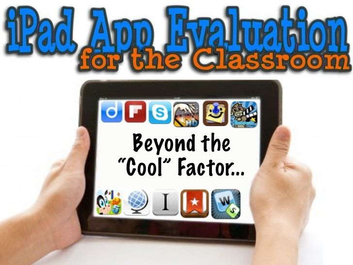 ipad-app-evaluation-guide by Silvia  Rosenthal Tolisano via Slideshare