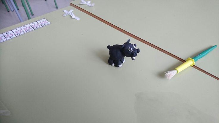 Hipopótamo plastilina