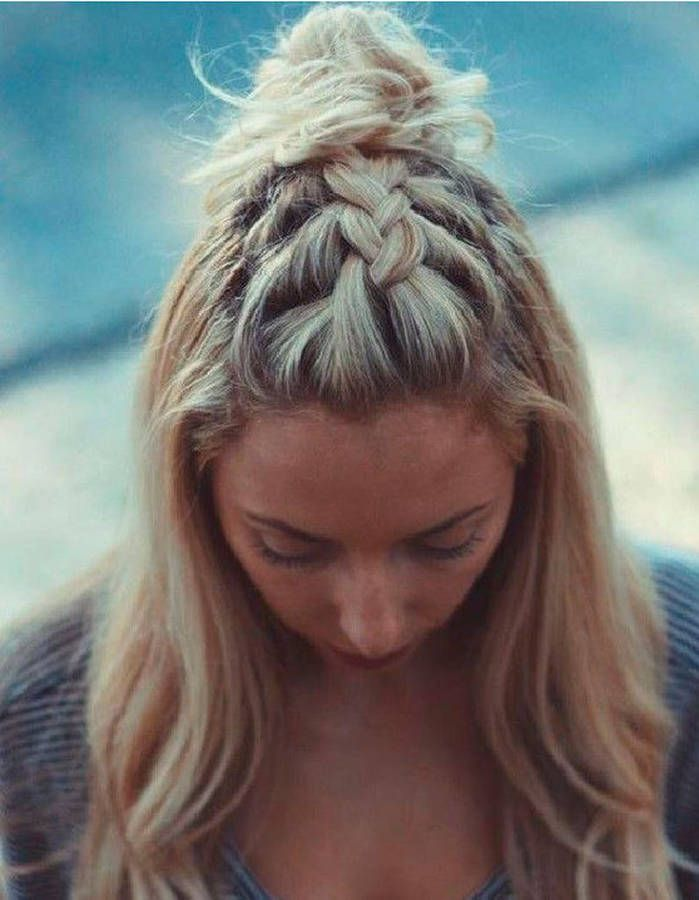 hair cuts and styles for hair 25 beautiful half braided hairstyles ideas on 2287