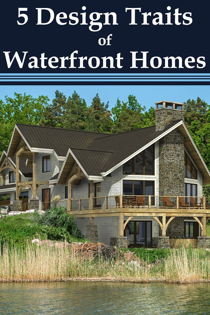 Captivating What Defines Waterfront Architecture? Learn 5 Common Design Traits And  Explore Floor Plans Of Timber. Timber Frame HomesTimber ...