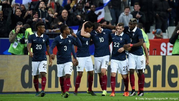 Fußball Länderspiel Frankreich - Deutschland