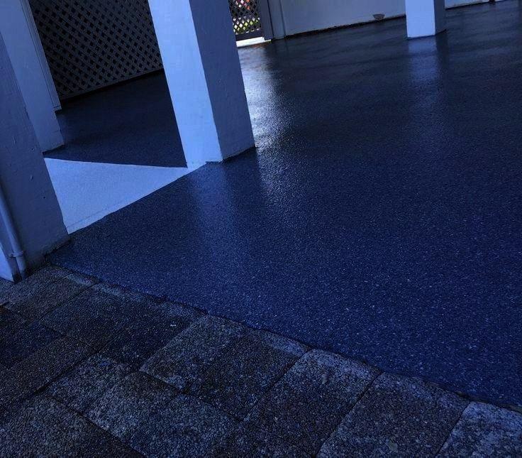 Textured Onfloor Aepoxy Ground Decor Stone Epoxy Flake Floor Decor Lanai Stilt Gray Home Sanigray Stone Texture In 2020 Stone Texture Ground Floor Decor