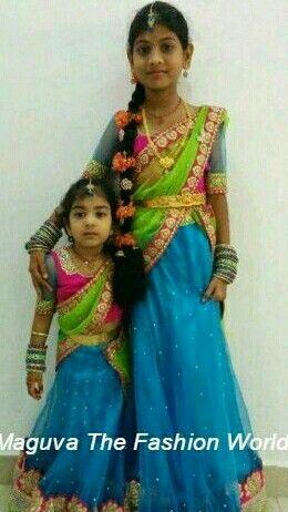 Kids in Half SAree