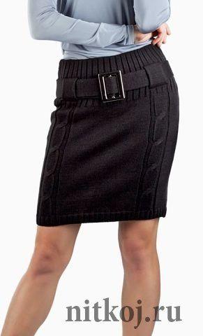 Мобильный LiveInternet Деловая юбка спицами «Офисный стиль» | Люка24 - Копилочка |