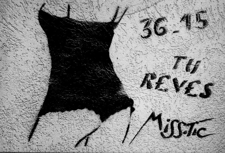 #streetart #misstic misstic: 36.15 tu reves on Fotopedia