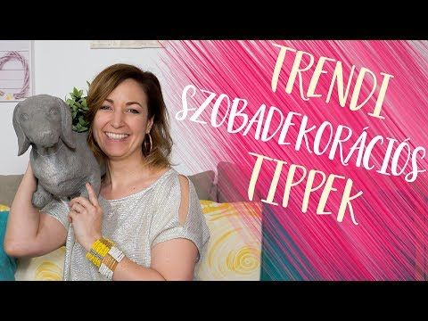 (124) Trendi szobadekorációs tippek | 🍦fagyis faldekor, falszíntrendek | INSPIRÁCIÓK Csorba Anitától - YouTube