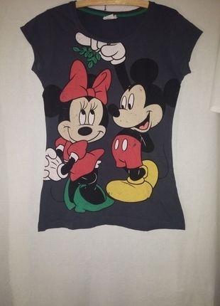 Kup mój przedmiot na #vintedpl http://www.vinted.pl/damska-odziez/bluzki-z-krotkimi-rekawami/12304319-koszulka-z-myszkami-mickey