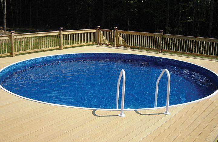 Small Backyard Pools Above Ground Design