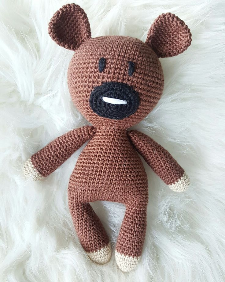 Teddy mönster bluerabbit