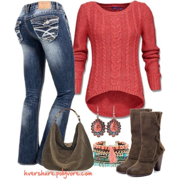 A fashion look from September 2014 featuring Kensie ankle booties. Browse and shop related looks.