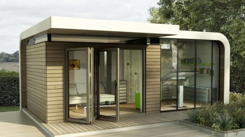 Contemporary prefab micro-house Apropos Tectonic Limited