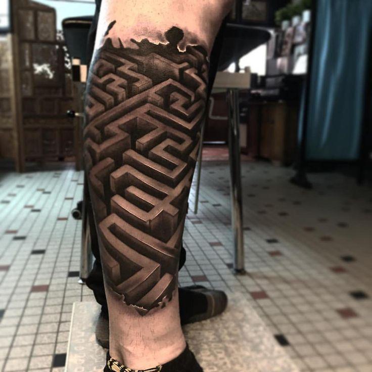 Maze Runner tattoo