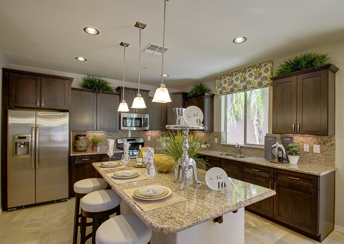Wonderful K Hovnanian Home Designs Part - 7: K. Hovnanian AZ , Avalon At Travata-The Compass Kitchen