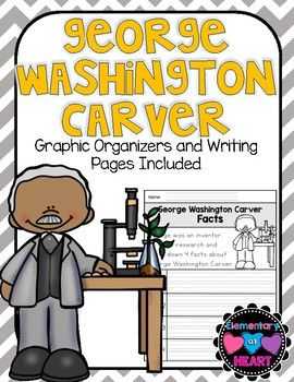 George Washington Carver was an inventor that all should know about! This product will get your kiddos writing and making connections to George. This will make a great addition to your Black History Month Unit!! Included:- George Washington Carver KWL Chart- George Washington Carver Venn Diagram ( George and Me!)- George Washington Carver Descriptions (graphic organizer)- George Washington Carver Information (graphic organizer)- George Washington Carver Facts (graphic organizer)- All About…
