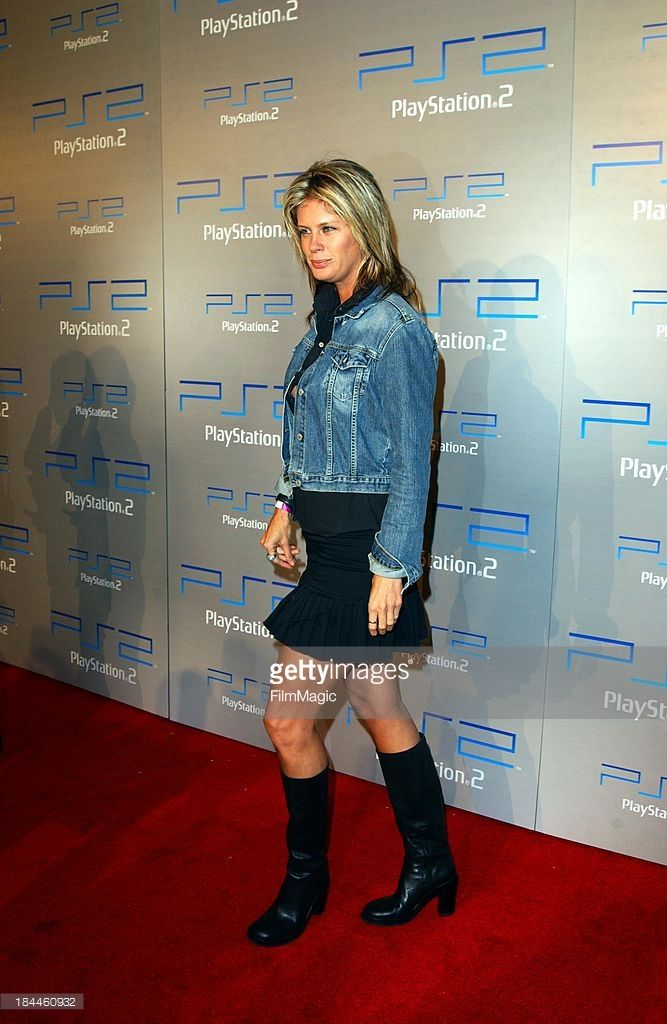 Rachel Hunter during Playstation 2 E3 Party 'Playa Del Playstation' - Arrivals at Viceroy Hotel in Santa Monica, CA, United States.