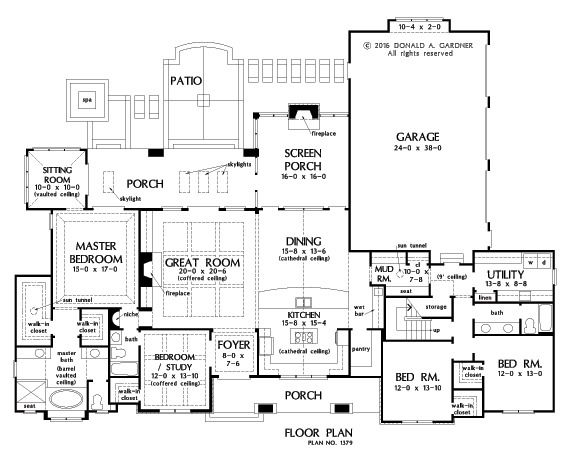 100 best images about one story home plans on pinterest for 2500 sq ft house plans single story