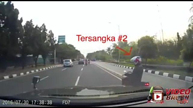 Modus Pencuri Jalanan