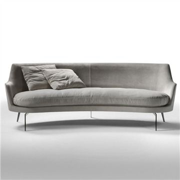 shop switch modern for luxury sofas from flexform the guscio sofa by antonio citterio combines design with modern classic furniture - Modern Sofas