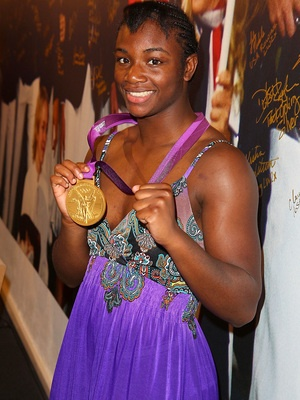 Claressa Shields, gold medalist in women's boxing at the 2012 olympics