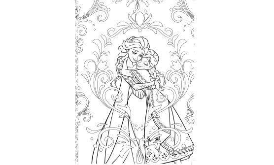 La reine de neiges coloriage gratuit imprimer adult - Coloriage reine des neiges a imprimer gratuit ...