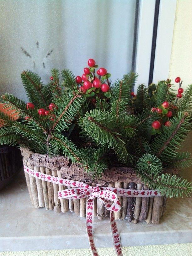 Christmas Centerpiece Selfmade