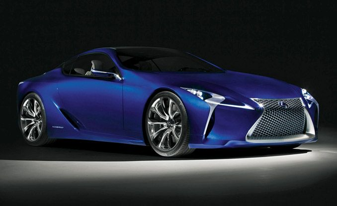 2017 Lexus LF-LC: 25 Cars Worth Waiting For 2014–2017 – Future Cars – Car and Driver