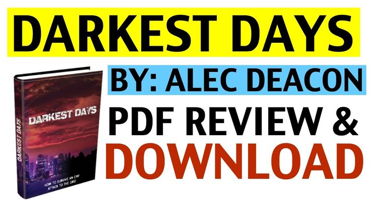 Darkest Days PDF | Review and Download of Darkest Days PDF