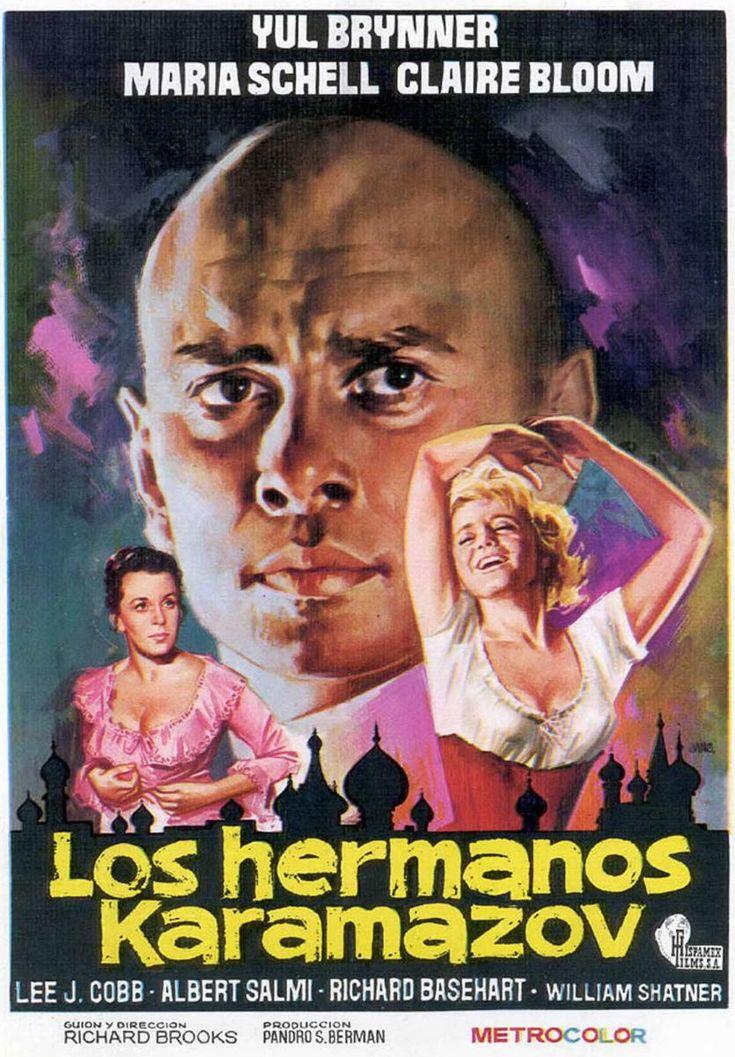 Los Hermanos Karamazov (The Brothers Karamazov), de Richard Brooks, 1958