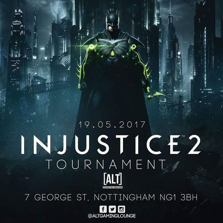 WIN A COPY OF THE GAME!! #altgaminglounge #dccomics #injustice2 #cosplay #batman #HarleyQuinn #joker #superman #comics #DC #greenlantern #shazam #theflash #netherrealm #warnerbros #comiccon #comicbooks #dcextendeduniverse #videogames #esports #fighting #playstation  #ps4 #xbox #win #xboxone #injustice