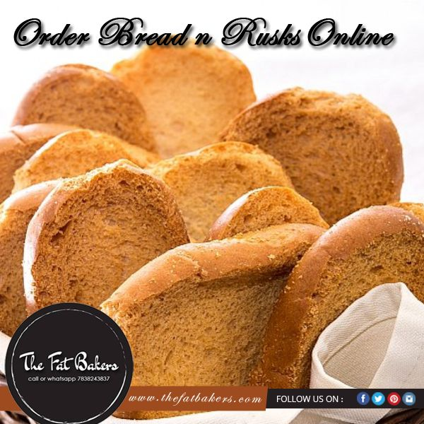 The Fat Bakers give you an opportunity to Order #Rusks in #Delhi. Our rusks are specially made with best quality wheat flour. We add many more flavors to make our #rusks more delicious and crispy for very long time. You can order our rusks in the packet according to kilogram by calling on 07838243837