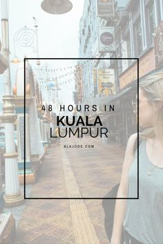 There are so many things to do in Kuala Lumpur, but here are the best things to see if you only have 48 hours in Kuala Lumpur. If you're travelling to Malaysia or have a layover in Kuala Lumpur, it's worth visiting Kuala Lumpur.