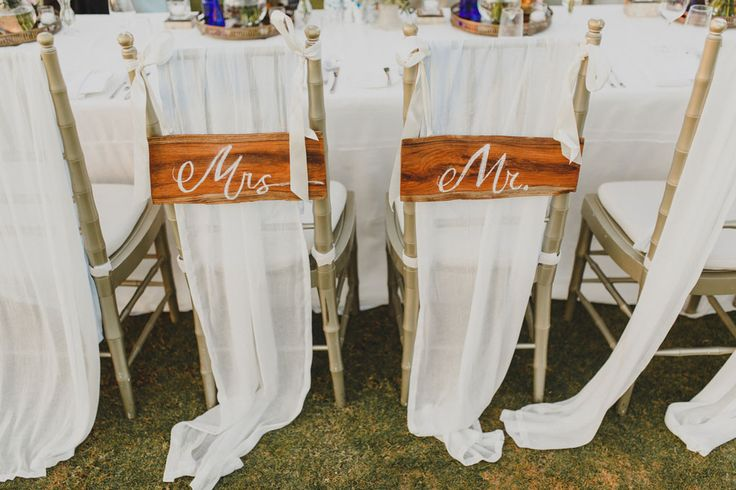 Chairs for the Newlyweds