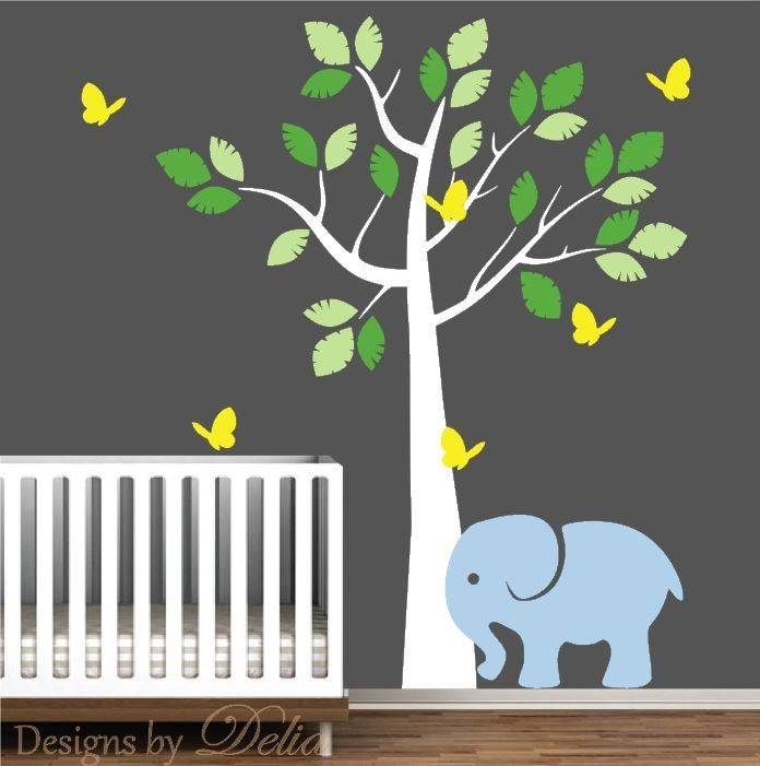 Image Result For Elephant Nursery Wall Decala