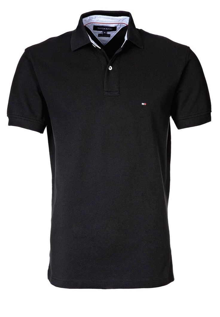 Tommy Hilfiger Mens Polo shirt black