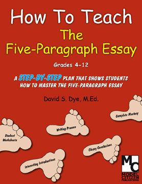 """How to Teach the Five Paragraph Essay listed at CreateBetterWriters.com. For a video demonstration, click """"Visit Website."""" Meets multiple writing standards from Common Core. ($)"""