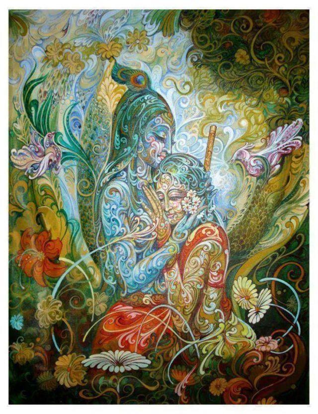 #Hindu #Krishna #Krsna #Radha #Radhe #art