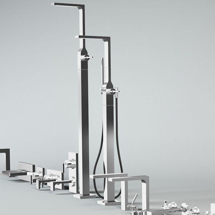 Wasserhahn Dusche Umschalter : Ritmonio freistehender Wannenf?llmischer Waterblade_J mit Umschalter