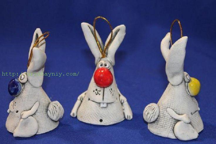 Заяц из глины | Урожайная дача, интернет журнал, все о даче