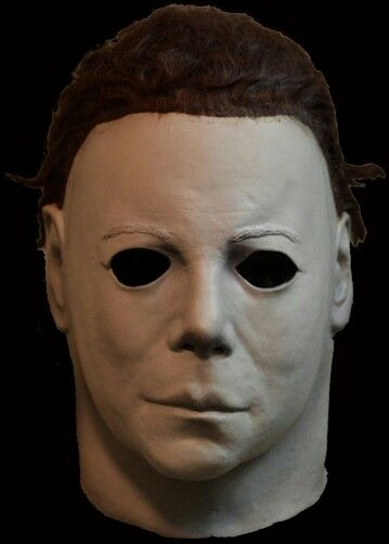 halloween ii clean michael myers mask from trick or - Halloween Myers Mask