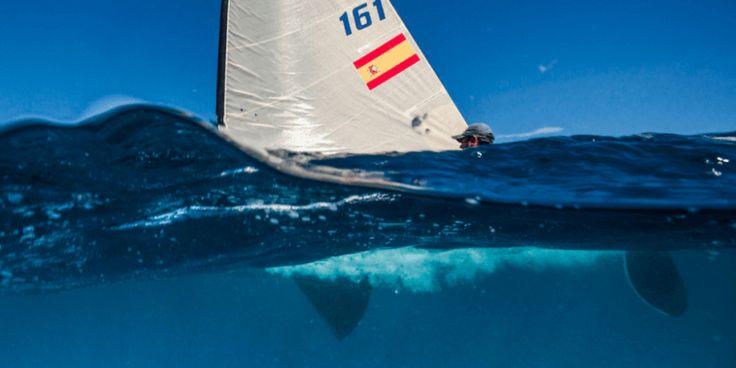 Sailboat or whale? Beautiful photo by Juan Renedo