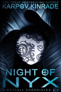 Night of Nyx by Karpov Kinrade (read March 2016)