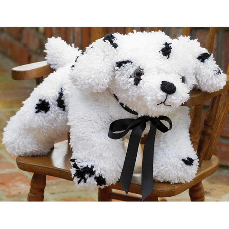 M C G Textiles Huggables Stuffed Toy Latch Hook Kit 12-Puppy, Puppy