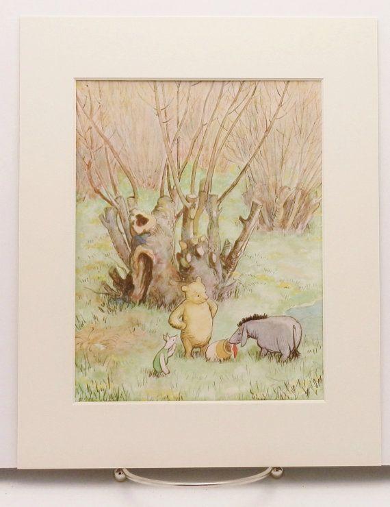 Clic Winnie The Pooh Nursery Prints