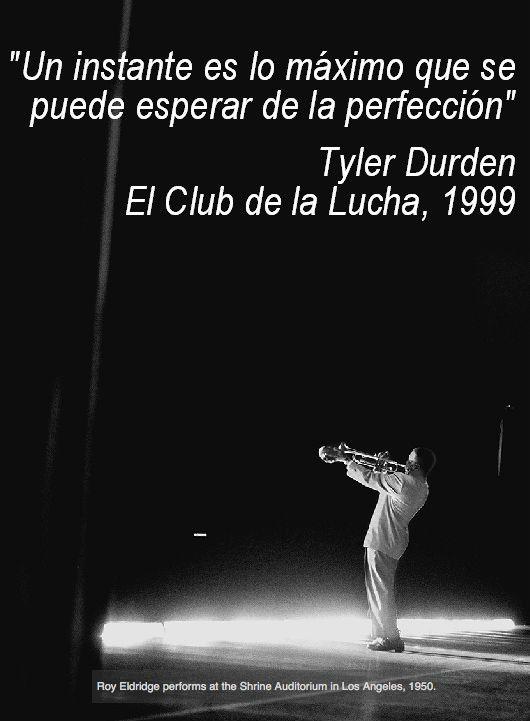 """""""Un instante..."""" (El Club de la Lucha · Jazz)"""