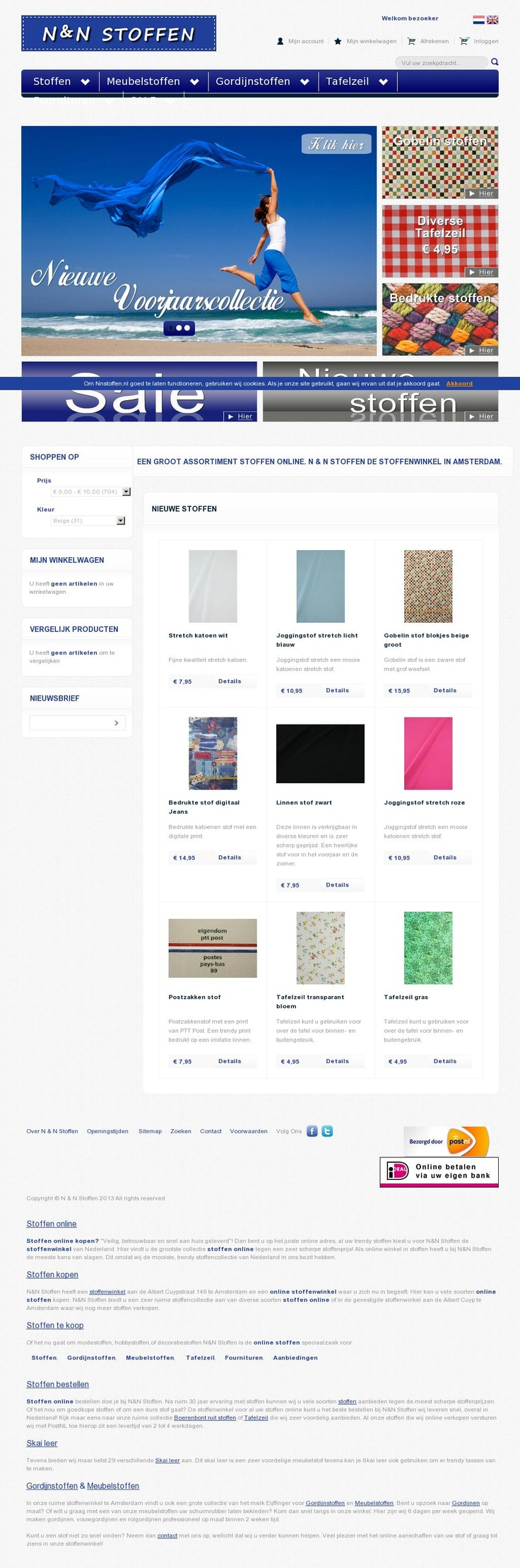 N Stoffen http://nnstoffen.nl #webshop met allemaal leuke stofjes