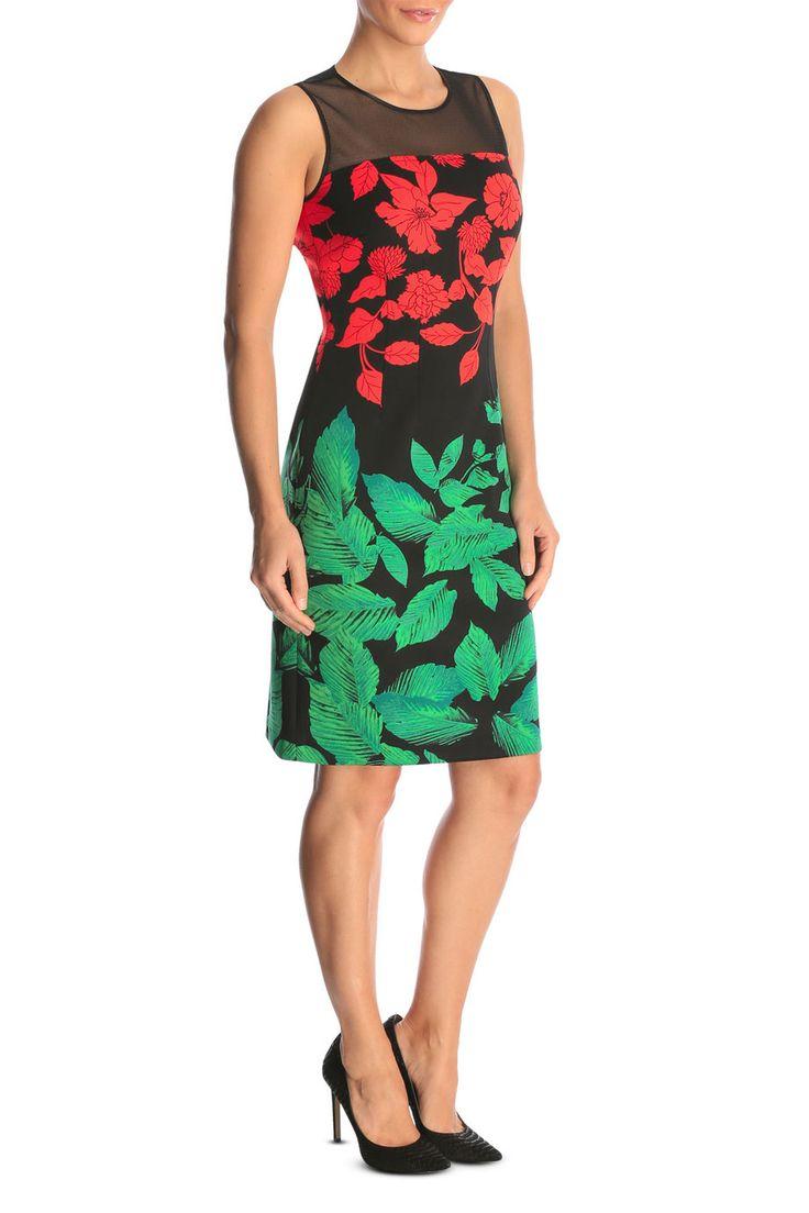 Myer Online - Jane Lamerton Scuba Mesh Dress$159