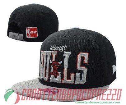 cappelli nba poco prezzo Chicago Bulls nero Nba, Prezzo