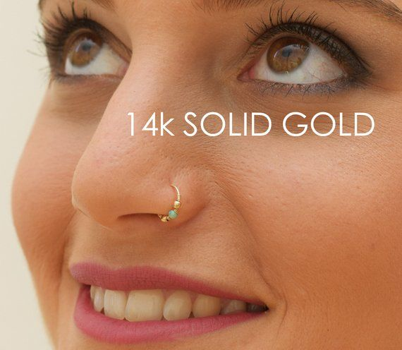 Body Jewelry Handmade Products Helix Or Cartilage Tragus Nose Ring