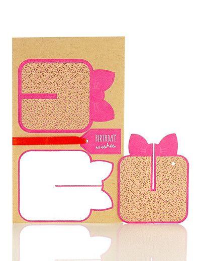 3D Paper Present Card | M&S